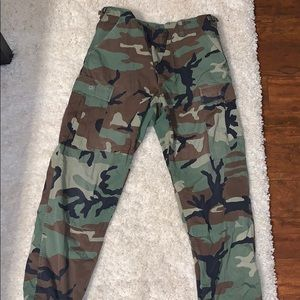 Pants - Real Army Pants Cargo Vintage